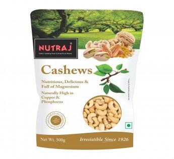 Nutraj Whole Cashew 500gm Cashew Nutraj