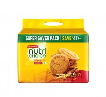 Britannia Nutrichoic Digestive Biscuits 5 N (200 g Each)