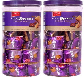 Parle Choco Roll Jar, 40 N (12.5 g Each)