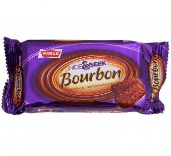 Parle Hide And Seek Biscuits Bourbon, 100 g