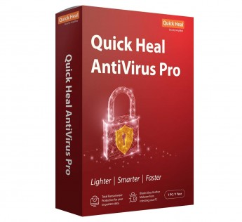 Quick Heal Antivirus Pro - 10 Users, 3 Years (CD)