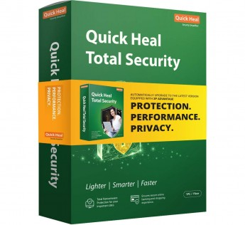 Quick Heal Total Security Latest Version - 1 PC, 1 Year