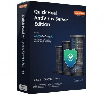 Quick Heal Antivirus Server Edition- 1 Server, 1 Year (DVD)