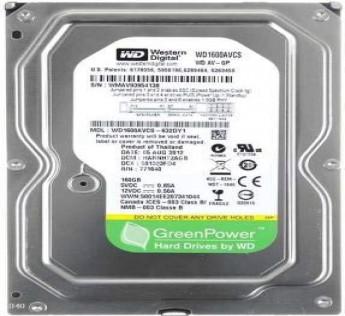 WD Hard Disk 160gb Desktop Hardisk Internal HDD