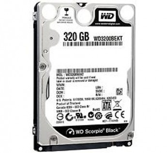 320gb Hard disk WD 320gb Laptop Hardisk ( Western Digital 320gb )