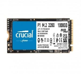 Crucial 1TB SSD 1TB 3D NAND NVMe PCIe M.2 SSD P1 - CT1000P1SSD8