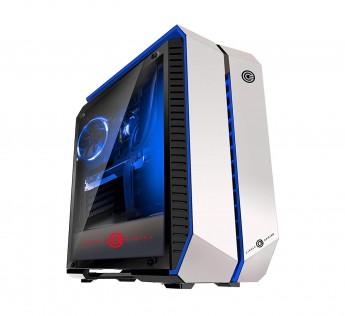 CABINET Circle INFERNOVA Z CABINET GAMING CABINET (WHITE) Gaming Desktop Cabinet