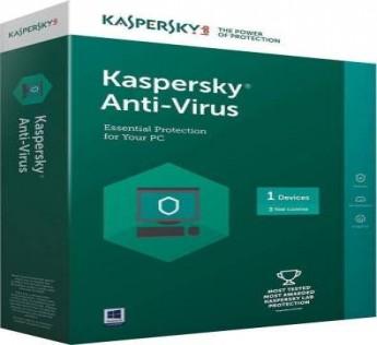 KASPERSKY Anti-virus 1 User 3 Years  ( 1 CD )