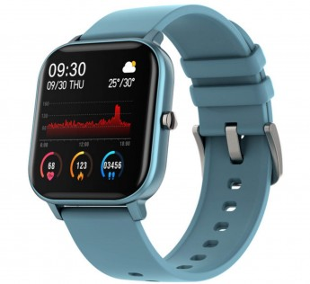 Fire-Boltt Full Touch Smart Watch with SPO2, Heart Rate, BP, Fitness and Sports Tracking - 1'4 inch high Resolution Display Colour:Blue