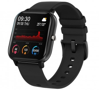 Fire-Boltt Full Touch Smart Watch with SPO2, Heart Rate, BP, Fitness and Sports Tracking - 1'4 inch high Resolution Display Colour:Black