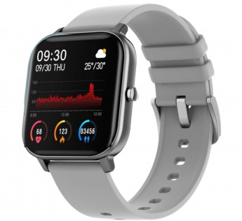 Fire-Boltt Full Touch Smart Watch with SPO2, Heart Rate, BP, Fitness and Sports Tracking -1'4 inch high Resolution Display (Grey)