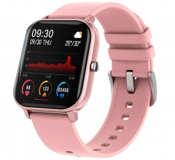 Fire-Boltt Full Touch Smart Watch with SPO2, Heart Rate, BP, Fitness and Sports Tracking -1'4 inch high Resolution Display (Pink)