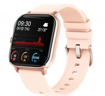 Fire-Boltt Full Touch Smart Watch with SPO2, Heart Rate, BP, Fitness and Sports Tracking - 1'4 inch high Resolution Display (Gold)