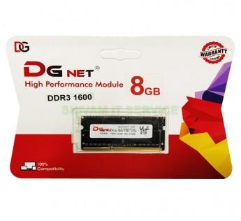 DGNET 8 GB ram DDR3 ram 8GB ram 1600Mhz Laptop RAM