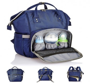 ZENO DIAPER BAG - BLUE COLOR SAFE SHOP