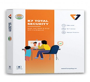 K7 Total Security 1 PC 3 Years (Email Delivery in 2 hours - No CD)