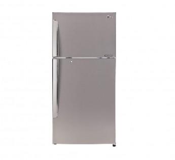 LG 420 L 3 Star Frost Free Double Door Refrigerator GL I472QPZX Shiny Steel Smart Inverter Compressor
