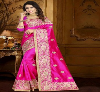 LARANYA LAVANYA EMBROIDED SAREE NEW