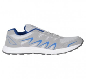 Lancer Mens shoes Lancer Shoes Lightgrey-RoyalBlue Sports Shoes-7 UK/India