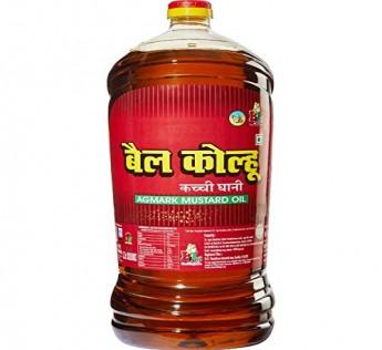 Bail Kolhu Mustard Oil Jar 5 Litre