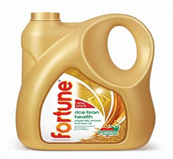 Fortune Oil Rice Bran Oil Jar 5 Litre