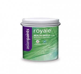 Asian Paints 4 Litre ezyCR8 Royale Shield DIY All Surface Anti Bacterial Clear Coating Paint 4 L Soft Sheen