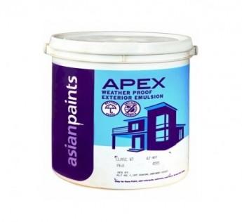 Asian Paint 20Litre Apex Asian paint Weather Proof Paint 20 Litre Paint White