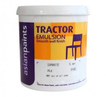 Asian Paint Tractor Emulsion 4Litre Wall Asian Paint 4 L Paint White