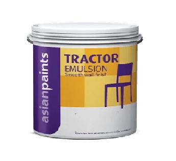 Asian Paint Tractor Emulsion 10 Litre Asian Paint 10Litre White