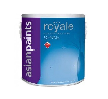Asian Paints 10Litre Royale Luxury Emulsion Shyne Red and Orange Shades 10 L