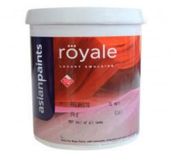 Asian Paint 1 litre Asian Paint Royal Luxury Emulsion 1litre. Pebble White