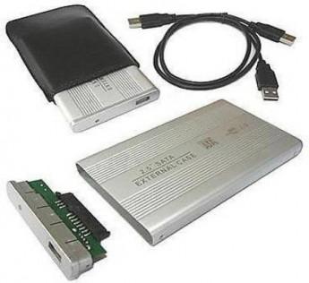 """Ranz Hard disk casing Silver External portable 2.5 """" Sata Casing HardDisk casing Usb 2.5 inch External Hard Drive enclosure Hardisk casing For Laptop hard disk ( Ranz Hardisk )"""