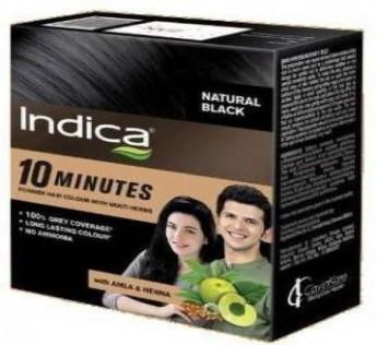 Indica Hair Colour Natural Black 8N 5g Indica Hair Colour