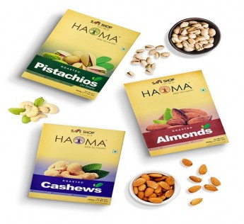 HAOMA SUPERIOR ROASTED NUTS TRIO PACK SAFE SHOP