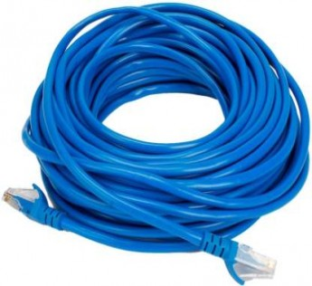 RANZ 5M CAT 5 Lan cable 3 m Cable 3 meter CAT 5 CABLE (Compatible with Mobile, Laptop, Tablet, Mp3, Gaming Device, Blue, One Cable)