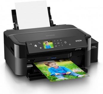 Printer Epson L810 Ink Tank Multi-function Color Printer Epson L810 Printer (Black, Refillable Ink Tank)