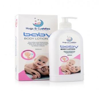 HUGS & CUDDLES BABY BODY LOTION SAFE SHOP