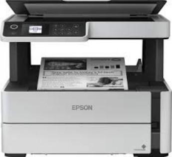 Printer Epson M2140 Printer EcoTank Monochrome Printer Epson All-in-One Printer Duplex Ink Tank Printer  (White)