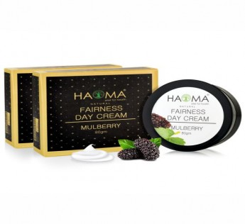 HAOMA MULBERRY FAIRNESS DAY CREAM80GM (PACK OF 2) SAFE SHOP