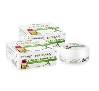 HAOMA DARD NIVARAK HERBAL BALM30GM(PACK OF 2) SAFE SHOP