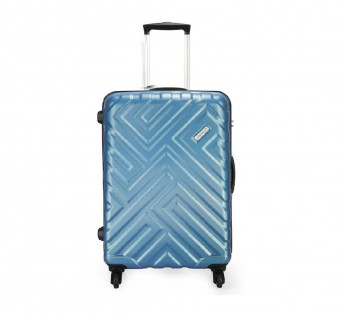 VIP Fairway VIP Strolly BAGS VIP Bags 55 cm 360 Degree Polycarbonate Hard Sided Cabin Luggage (Silver)