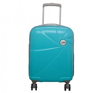 Skybags luggage bags Travelling bag Unisex Polycarbonate Capture Spinner TRQ 55 cm Hard Trolley (Blue)
