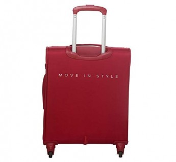 Skybags bags Snazzy Polyester Red 59 cm 4W Expandable Soft Strolly/Trolley