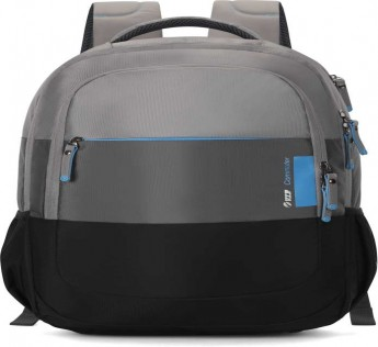 VIP LAPTOP BAGS 27 L Bag Laptop Backpack DROID PLUS 01 BACKPACK 47 BLK  (Black, Grey)