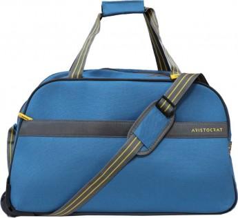 ARISTOCRAT bag Dream Wheel Duffle 65 cm (Blue) Travel ARISTOCRAT Duffel Bag  (Blue)