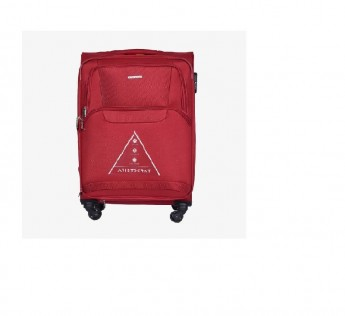 Large Check in Aristocrat Luggage bag 79cm Amber 79cm Polyester Aristocrat Trolley bag Red