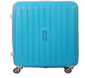 Aristocrat bag Nitron 65cm Polycarbonate Hard Aristocrat Trolley bag Teal Blue