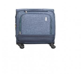 ARISTOCRAT Luggage 59cm ARISTOCRAT Saphire STROLLY 4W Expandable Strolly 59 CM Blue