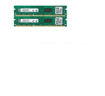 Kingston 8GB RAM DDR3 Notebook Memory Kit (2x4GB) 1333MHz DDR3 Non - ECC CL9 SODIMM SR x8 Notebook Memory ValueKVR13S9S8K2/8