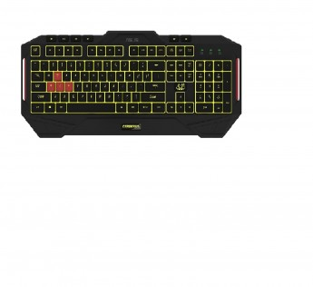 ASUS Gaming Keyboard MKII Cerberus Multi Color Backlit Gaming Keyboard with Splash Proof Design
